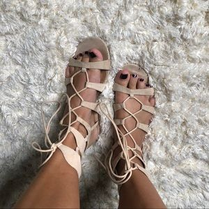 Bamboo Wrap Sandals